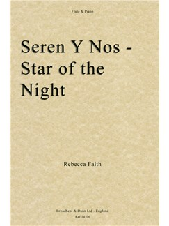 Rebecca Faith: Seren Y Nos, Star Of The Night Books | Flute, Piano Accompaniment