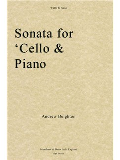 Andrew Beighton: Sonata For 'Cello And Piano Books | Cello, Piano Accompaniment