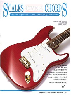 Scales Over Chords Books | Guitar Tab, with guitar chord boxes