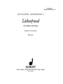 Fritz Kreisler: Liebesfreud Books | Violin, Piano