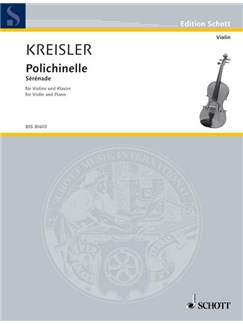 Fritz Kreisler: Polichinelle Books | Violin, Piano
