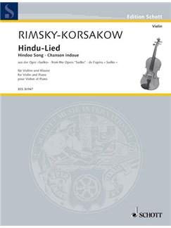 Nikolaj Rimskij-Korsakow: Hindu-Lied Books | Violin, Piano