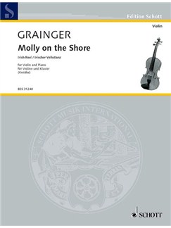 Percy Aldridge Grainger: Molly Am Gestade Books | Violin, Piano