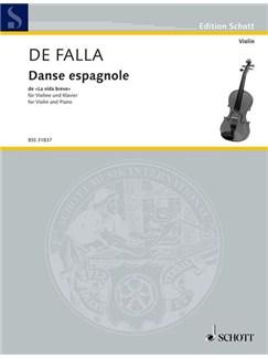 Manuel de Falla: Danse Espagnole Books | Violin, Piano