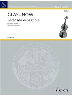 Alexander Glasunow: Sérénade Espagnole Books | Violin, Piano