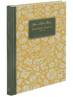 J.S. Bach: St Matthew Passion (BWV 244) Facsimile Books | Choral