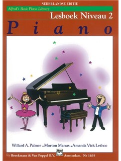Alfred's Basic Piano Library: Lesboek Niveau 2 (Dutch Edition) Books | Piano