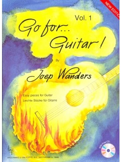 Joep Wanders: Go For Guitar (Band 1) Books and CDs | Guitar