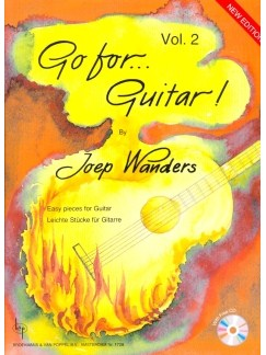 Joep Wanders: Go For Guitar (Band 2) Books and CDs | Guitar