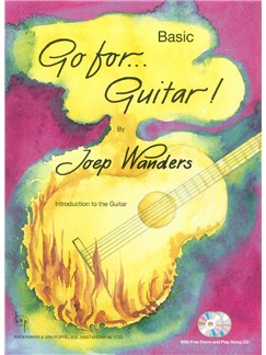 Joep Wanders: Go For...Guitar! - Basic (Book/2 CDs) Books and CDs | Guitar
