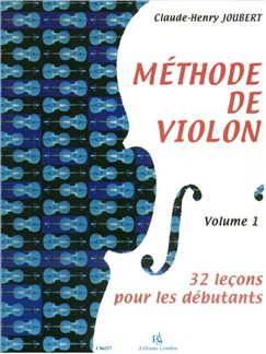 Claude-Henry Joubert: Méthode De Violon - Volume 1 Books | Violin