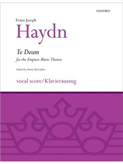 Franz Joseph Haydn: Te Deum Books | SATB, Piano Accompaniment