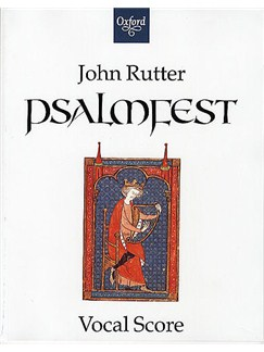 John Rutter: Psalmfest Books | Keyboard, SATB, Soprano, Tenor