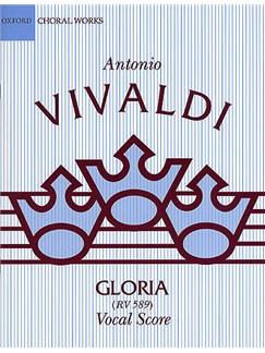 Antonio Vivaldi: Gloria RV 589 (OUP Vocal Score) Books | SATB, Piano Accompaniment