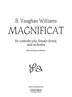 Ralph Vaughan Williams: Magnificat Books | Mezzo-Soprano, 2-Part Choir, Flute, Piano Accompaniment