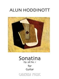 Alun Hoddinott: Sonatina Op.98 No.1 Books | Classical Guitar