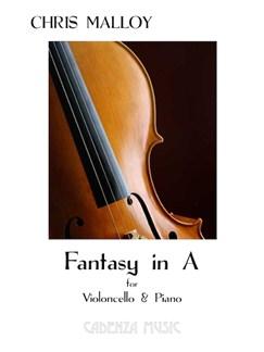 Chris Malloy: Fantasy In A Books | Cello, Piano Accompaniment