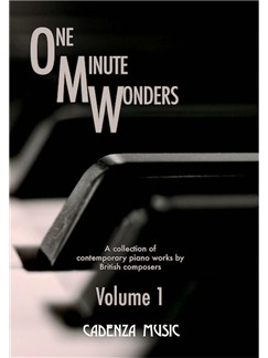 One Minute Wonders: Volume 1 Books | Piano