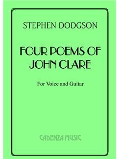 Stephen Dodgson: Four Poems Of John Clare Books   Tenor, Classical Guitar