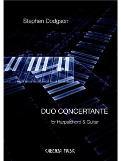 Stephen Dodgson: Duo Concertante Books | Classical Guitar, Harpsichord