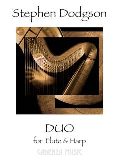 Stephen Dodgson: Duo (Flute/Harp) Books | Flute, Harp