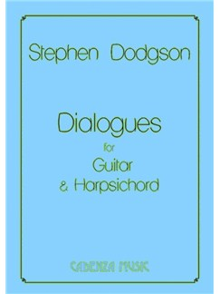 Stephen Dodgson: Dialogues Books | Classical Guitar, Harpsichord