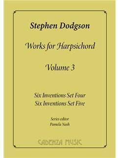 Stephen Dodgson: Works For Harpsichord Vol.3 Books | Harpsichord