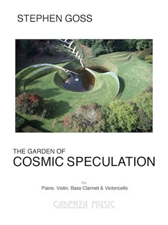 Stephen Goss: The Garden Of Cosmic Speculation Books | Piano Chamber, Violin, Cello, Bass Clarinet