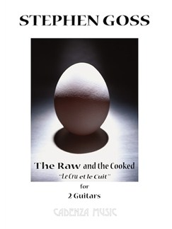 Stephen Goss: The Raw And The Cooked Books   Classical Guitar (Duet)