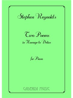 Stephen Reynolds: Two Poems In Homage To Delius Books | Piano