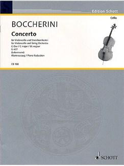 Luigi Boccherini: Concerto In C For Cello And String Orchestra G.477 (Cello/Piano) Books | Cello, Piano Accompaniment