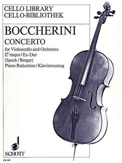 Luigi Boccherini: Concerto EsDur Books | Cello, Piano