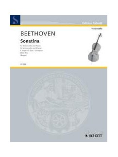 Ludwig van Beethoven: Sonatina In C, WoO 44a (Cello/Piano) Books | Cello, Piano Accompaniment