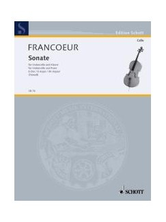 François Francoeur: Sonata In E Books | Cello