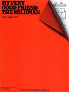 Harold Spina: My Very Good Friend The Milkman (PVG) Books | Piano, Voice And Guitar (Boxed Chord Symbols)