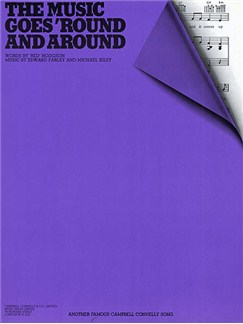 Edward Farley/Michael Riley: The Music Goes 'Round And Around Books | Piano, Voice, Guitar (Boxed Chord Symbols)