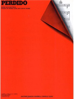 Juan Tizol: Perdido (PVG) Books | Piano, Voice, Guitar (Boxed Chord Symbols)