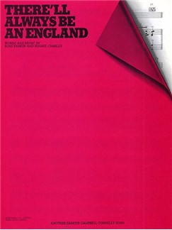 There'll Always Be An England (PVG) Libro | Piano, Voz y Guitarra