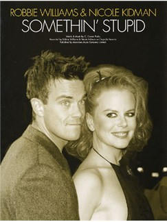 Robbie Williams And Nicole Kidman: Somethin' Stupid Books | Piano and Voice, with Guitar chord boxes