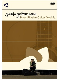 Justinguitar.com: Blues Rhythm Guitar (DVD) DVDs / Videos | Guitar