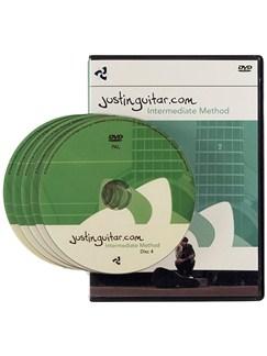 Justinguitar.com: Intermediate Guitar Method (5 DVD Set) DVDs / Videos | Guitar