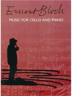 Ernest Bloch: Music For Cello And Piano Books | Cello, Piano Accompaniment