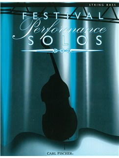 Festival Performance Solos - String Bass Book Books | Double Bass