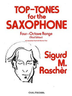 Top-Tones For The Saxophone - Four-Octave Range (Third Edition) Books | Saxophone