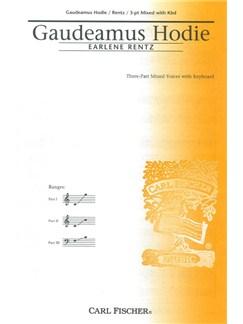 Earlene Rentz: Gaudeamus Hodie Books | SATB, Keyboard