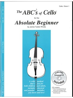 The ABCs of Cello for the Absolute Beginner (Book 1) Books | Cello