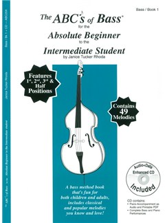 Janice Tucker Rhoda: The ABCs Of Bass For The Absolute Beginner To The Intermediate Student (Book/CD) Books and CDs | Double Bass