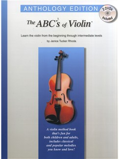 Janice Tucker Rhoda: The ABC's Of Violin - Anthology Edition Books and DVDs / Videos | Violin