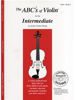 Janice Tucker Rhoda: The ABC's Of Violin Book 2 - Intermediate Books and CDs | Violin