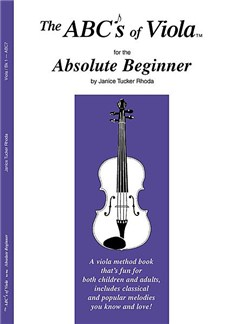The ABCs Of Viola For The Absolute Beginner: Book 1 Books and CDs | Viola